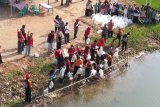 Disnakan OKU sebar 307 ribu benih ikan di Sungai Ogan