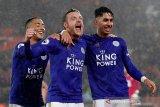 Leicester City luluhlantakkan 10 pemain Southampton 9-0