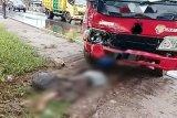 Hendak melayat, Masrawan tewas setelah motornya ditabrak truk
