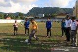 Sepak bola - Kepulauan Sangihe gelar turnamen U-40