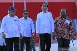Belum ada usulan revisi UU otonomi khusus, kata Jokowi