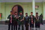 Kodim Kendari mengutus lima orang pramuka ikut Perkemahan KBN Tri Matra