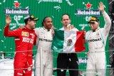 Hamilton berjaya di Grand Prix Meksiko karena strategi