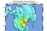 Guncangan gempa di Mindanao Filipina terasa hingga Indonesia