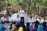 Bupati Waykanan ngopi bareng petani Buay Bahuga