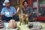 Patung kuda ini diyakini warga Palangka Raya memiliki roh gaib, lakukan ritual agar tak mengganggu