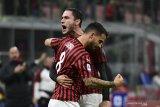 AC Milan meraih kemenangan perdana di bawah asuhan Stefano Pioli