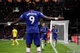Gol Abraham dan Pulisic antar Chelsea ke posisi tiga Liga Inggris
