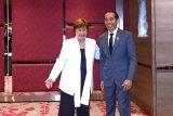 Jokowi - Direktur Pelaksana IMF bahas kondisi ekonomi global
