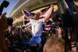 Ucapan selamat mengalir setelah Hamilton juara dunia F1 keenam