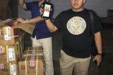 Bea Cukai Jambi dan polisi sita ribuan botol minuman keras ilegal