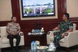 Pertemuan Kapolri-KSAD kuatkan sinergi Polri-TNI