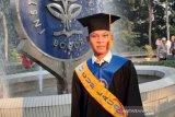 Anak buruh dari Semarang wisudawan terbaik IPB, IPK 3,97