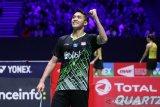 Tim Bulu tangkis beregu putra Indonesia berharap pada tunggal