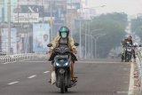 Kota Baturaja  diselimuti kabut asap Karhutla