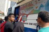 Polda Metro buka layan lima SIM Keliling di Jakarta
