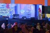 Ketua TP PKK Sulsel sharing keluarga dan stunting pada Ummat Fest 2019