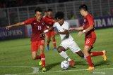 Kualifikasi Piala Asia U-19: Timnas Indonesia pimpin klasemen dan 'top scorer' Grup K