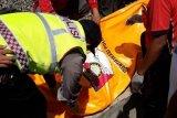 Polisi tangani kecelakaan warga tertabrak kereta di Blitar