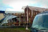 Aula SPN Polda Kalimantan Selatan ludes terbakar ketika pesta perkawinan