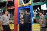Labfor Surabaya cek Aula SPN Polda Kalimantan Selatan yang terbakar