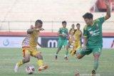 Mitra Kukar bermain imbang 1-1 dengan Sriwijaya FC pada babak delapan besar Liga 2