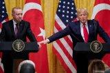 Terkait Libya, sejumlah isu ini Erdogan sepakat dengan Trump