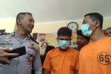 Peras pegawai SPBU, dua polisi gadungan berhasil ditangkap