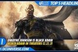Gabung DC, Dwayne 'The Rock' Johsnon perankan Black Adam