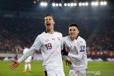 Kualifikasi Piala Eropa -- Swiss berpeluang lolos ke final Piala Eropa 2020 usai kalahkan Georgia