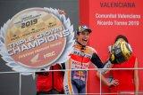 Hasil GP Valencia, Marc Marquez tutup musim 2019 dengan sempurna