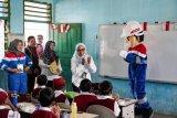 Relawan Pertamina Energi Negeri kunjungi  sekolah dasar di Palembang