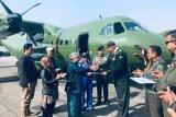 Pesawat CN-235-220 buatan Indonesia  terbangi langit Himalaya