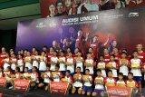55 peserta Audisi Umum Bulu Tangkis lolos ke tahap karantina