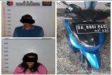 Pasangan suami istri ini lakukan aksi pencurian motor