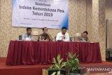Provinsi Sulawesi Tenggara  peringkat pertama indeks kemerdekaan pers 2019