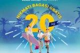 Maskapai Sriwijaya gratiskan biaya bagasi 20 kilogram penerbangan Natal