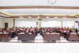 Mahasiswa Universitas Pertahanan Study Visit di Polda Sulut
