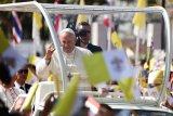 Paus Fransiskus memuji  komitmen China tanggulangi virus corona