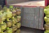 Polisi sita ratusan tabung gas elpiji dijual tanpa ijin