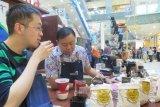 Kopi jadi andalan pelajar Indonesia  di Nanjing