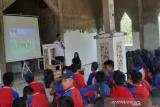 BNN Sultra edukasi pelajar SMPN 19 Kendari bahaya penyalahgunaan narkoba
