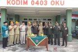 Kodim 0403 OKU bekali Linmas  pendidikan bela negara