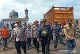 Kapolda Kalsel instruksikan bantu korban kebakaran di Pulau Sebuku