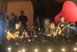 Padi Reborn gelar mini konser di Kota Lama Semarang