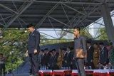 Pejabat Wali Kota Makassar bacakan pidato seragam Mendikbud