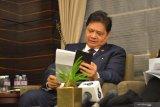 Airlangga: Korean Exim akan selesaikan pendanaan proyek PLTU di Suralaya