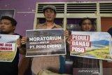 Sejumlah aktivis tolak perusakan jembatan Pamona Poso