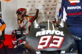 Marquez bersaudara hari pertama tes pramusim di Jerez