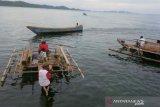 Perahu kajang atraksi wisata Raja Ampat, transportasi tradisional Misool